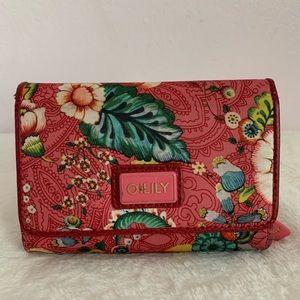 OILILY Women tri-folded wallet